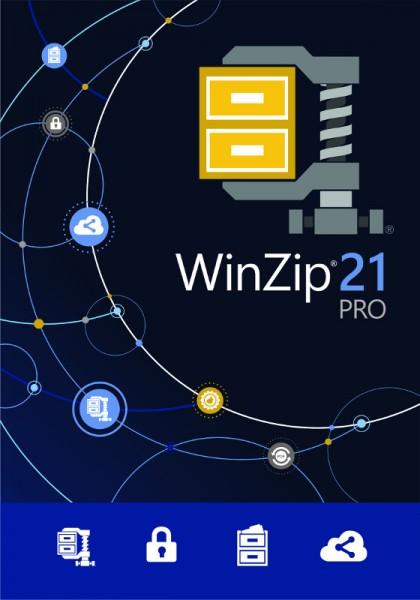WinZip 21 PRO, Windows, Deutsch, Download