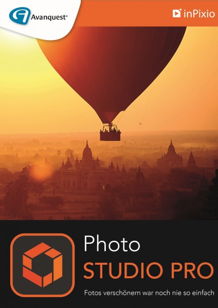 inPixio Photo Studio 10 Pro Windows, 1 Jahr, Download