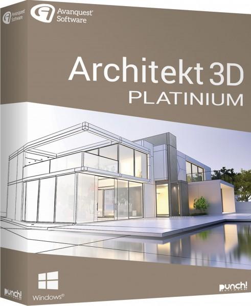 Architekt 3D 21 Platinum, Windows 64-Bit, Download