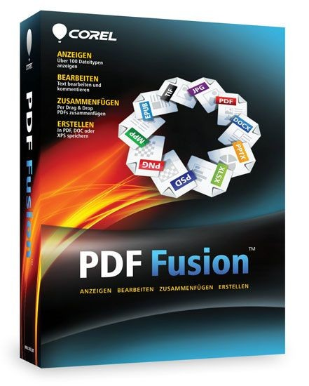 Corel PDF Fusion, CD