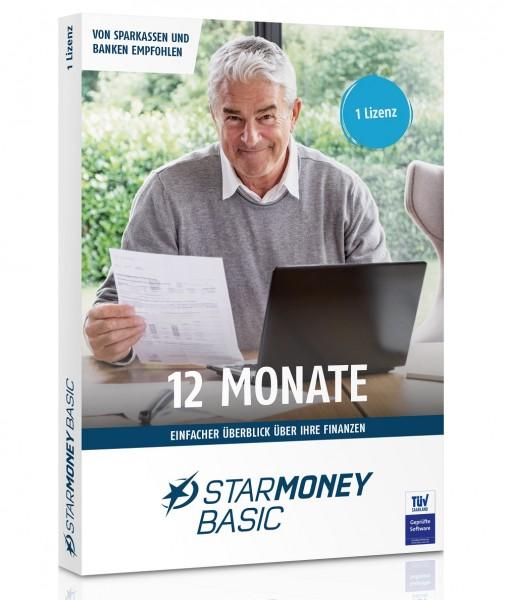 starfinanz STARMONEY (12) Basic 1-PC / 1- Jahr inkl.PremiumSupport, DVD-Box