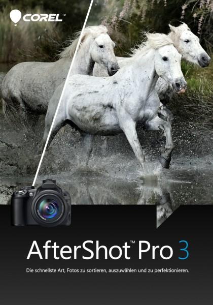 COREL AfterShot Pro 3, Upgrade, Deutsch Windows/Mac/Linux, Download