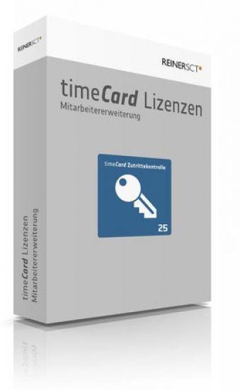 REINER SCT timeCard 6 Zutrittskontrolle ERWEITERUNG, 25 Mitarbeiter