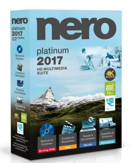 Nero 2017 Platinum #BOX