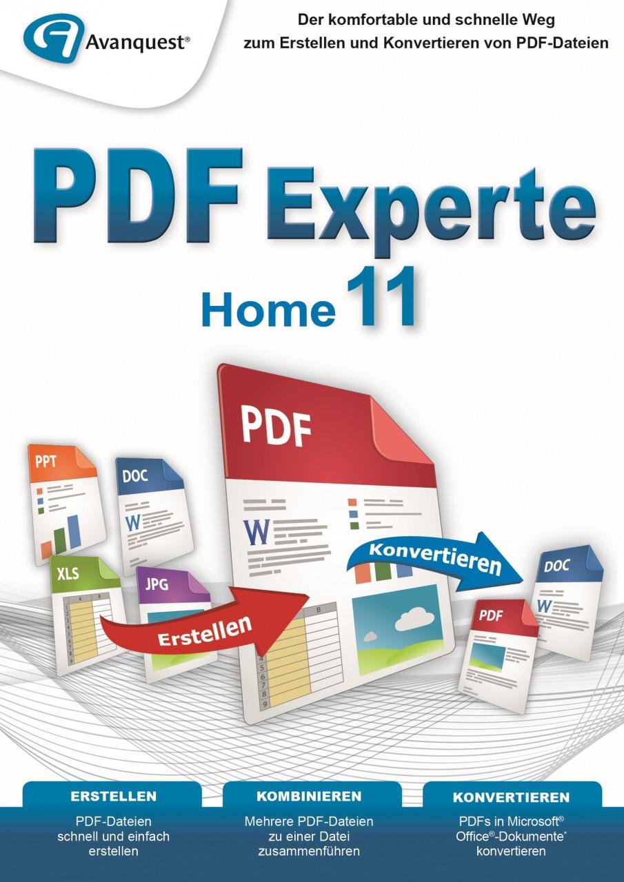 AvanQuest PDF Experte 11 Home #Key (ESD) AQ-11912-LIC