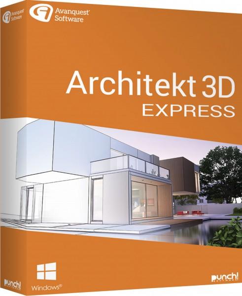 Architekt 3D 21 Express, Windows 64-Bit , Download