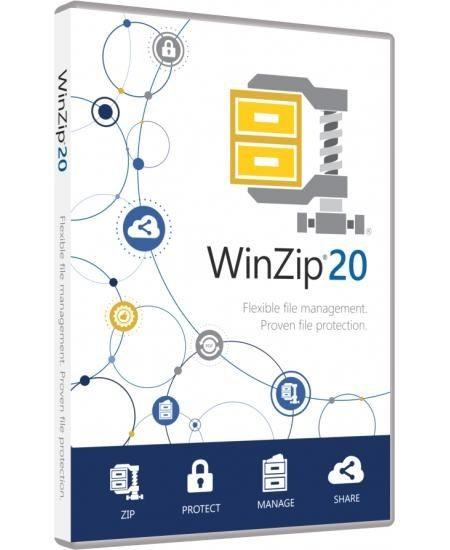 WinZip 20.5 Standard, ESD Lizenz Download Win Deutsch