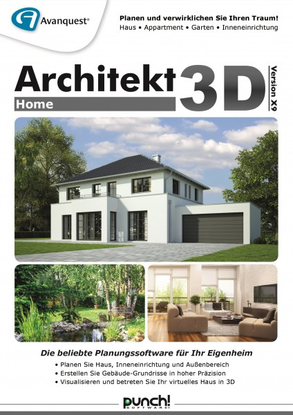 Architekt 3D X9 Home #Key (ESD)