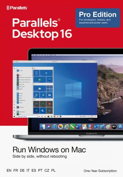 Parallels Desktop 16 PRO für MAC *1-Jahr* Download