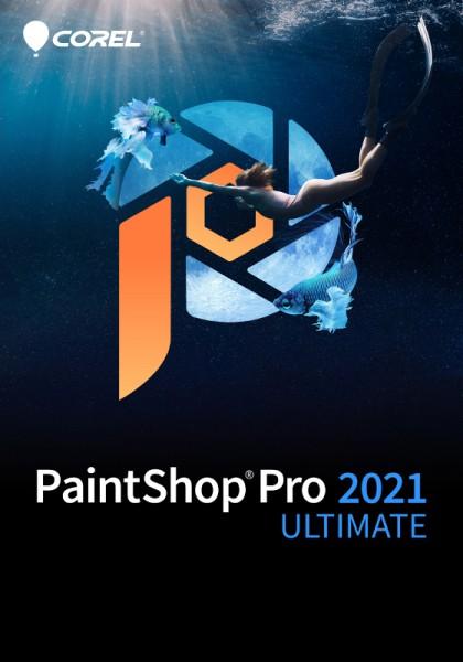COREL PaintShop Pro 2021 ULTIMATE, Windows, Deutsch, Download