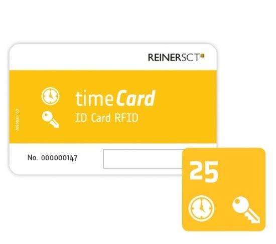 REINER SCT timeCard RFID Chipkarten 25 Stk. (DES)