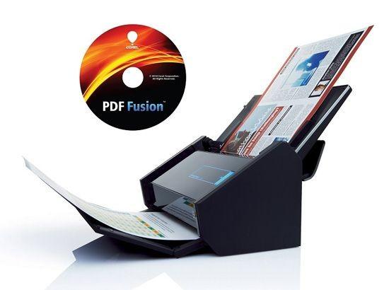 Fujitsu ScanSnap iX500 Dokumentenscanner inkl. PowerPDF *Fusion-Edition*