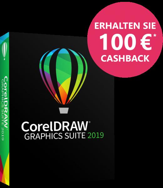 CorelDRAW Graphics Suite 2019 Vollversion BOX, für MAC, 100.- Cashback möglich!