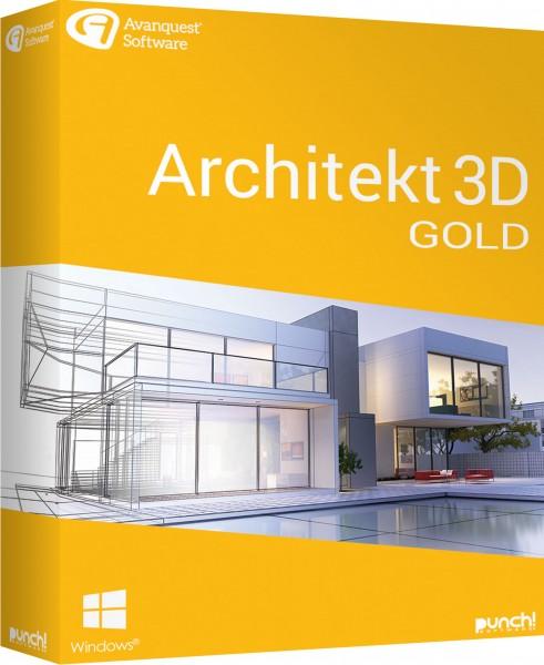Architekt 3D 21 Gold, Windows 64-Bit, Download