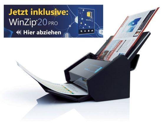 Fujitsu ScanSnap iX500 Dokumentenscanner inkl. PowerPDF *WinZip-Edition*