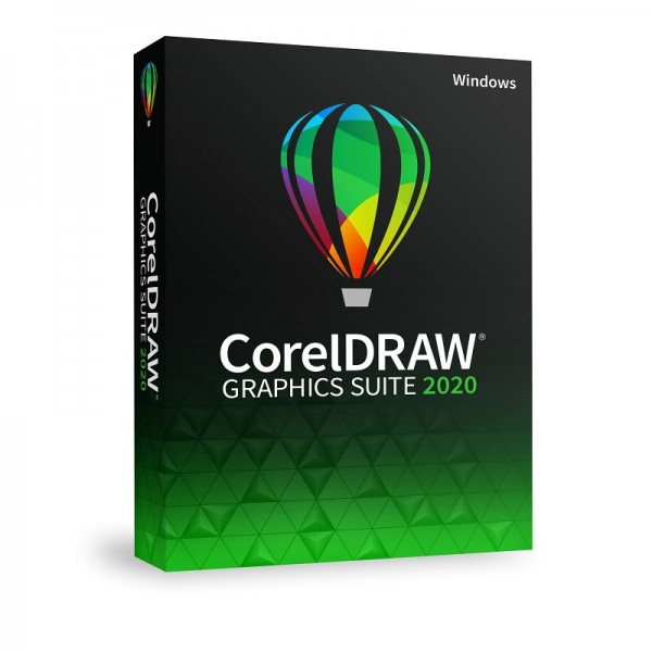 CorelDRAW Graphics Suite 2020, Windows, Deutsch, Slim-Case
