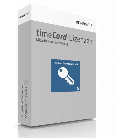 REINER SCT timeCard 6 Zutrittskontrolle ERWEITERUNG, 5 Mitarbeiter