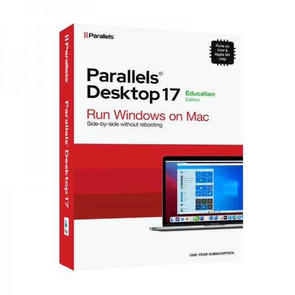EDUCATION Parallels Desktop 17 für MAC 1 Jahr Schulversion/Academic Box