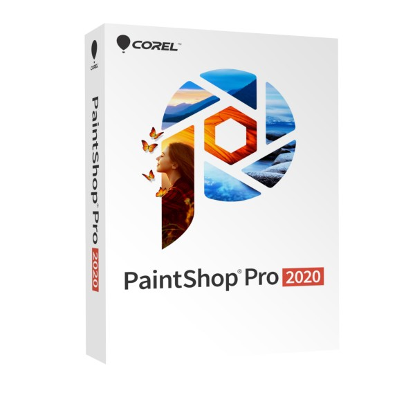 COREL PaintShop Pro 2020 MultiLingual, BOX