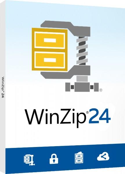 WinZip 24 Standard 1-PC DEUTSCH #BOX