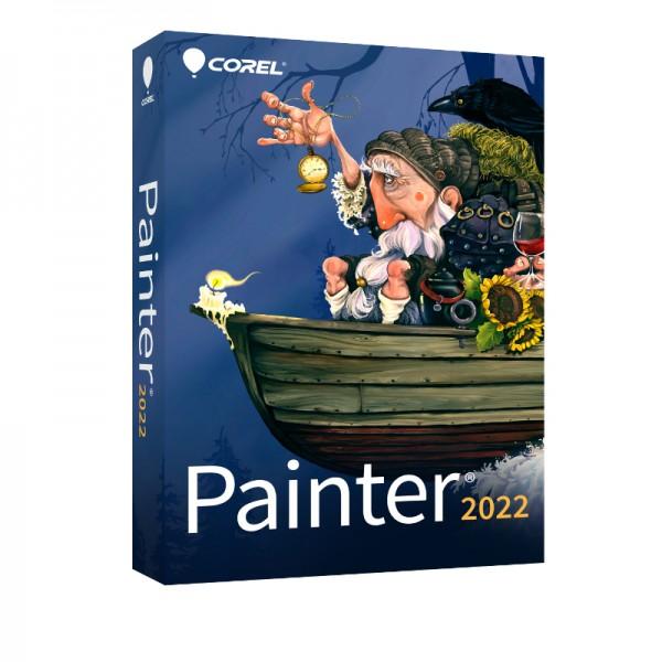 COREL Painter 2022 Education/Schulversion/Academic Windows/Mac BOX