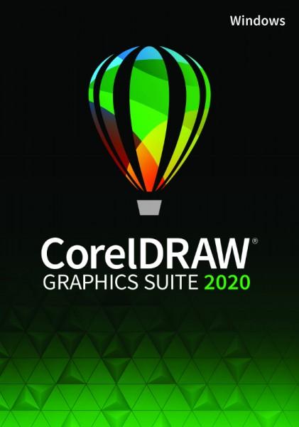 Aktion: CorelDRAW Graphics Suite 2020 Vollversion Windows, Deutsch, Download