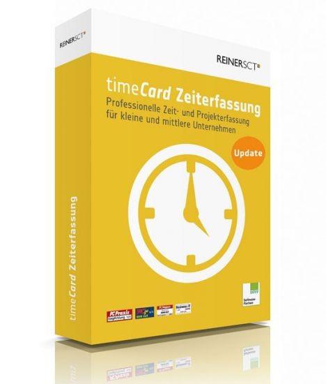 Reiner SCT timeCard 6 Zeiterfassung, Update von 3.x und 4.x auf Version 6.x Lize