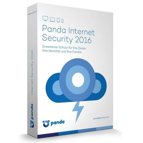 Panda Internet Security 2016 *3-Geräte* Vollversion , KEY