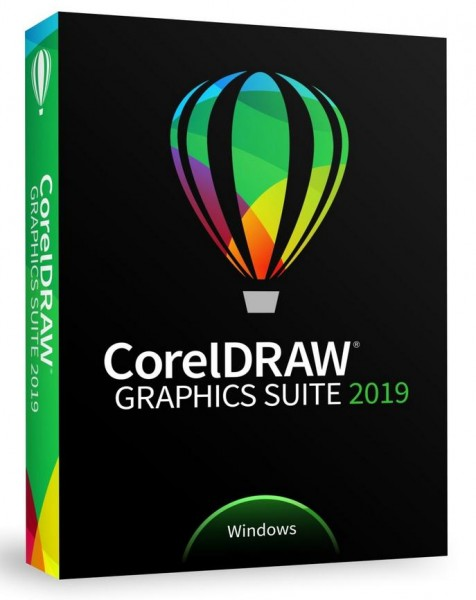 COREL CorelDRAW Graphics Suite 2019 Upgrade Italienisch, Slim-Case