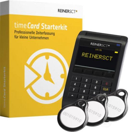 ReinerSCT timeCard Starterkit Zeiterfassung (bis zu 15 Mitarbeiter)