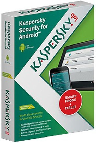 Kaspersky Android Security, Mobile Security, 2 User, 1 Jahr, KEY