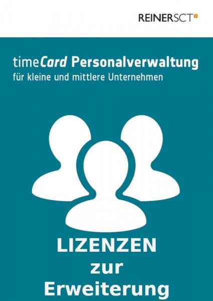 REINER SCT timeCard 6 Personalverwaltung Erweiterung um 25 Benutzer, ESD