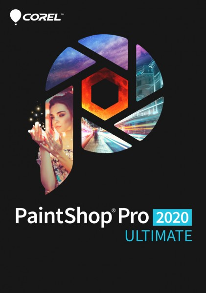 COREL PaintShop Pro 2020 ULTIMATE Deutsch, Download
