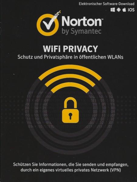 Norton WiFi Privacy 1.0 VPN , 1 Jahr 1 Gerät, Download