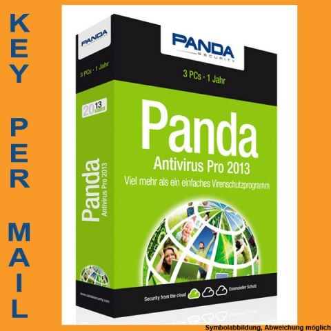 Panda Antivirus Pro, 3 PC, 1 Jahr, KEY