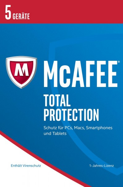 McAfee 2017 Total Protection 5 Geräte, Download