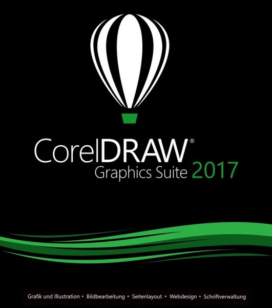 Corel DRAW Graphics Suite 2017 (X9) Deutsch DOWNLOAD