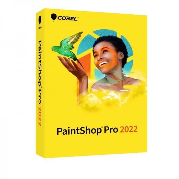 COREL PaintShop Pro 2022, Windows, Deutsch, BOX