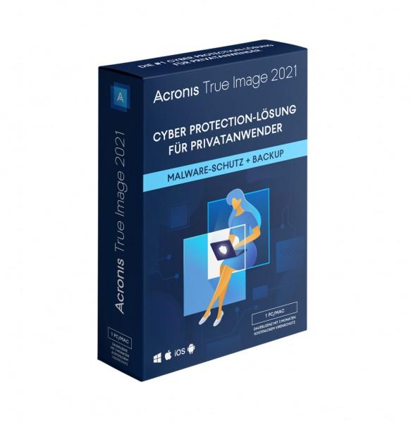 Acronis True Image 2021, 1 Gerät, Download *Dauerlizenz*
