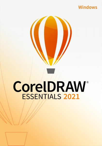 COREL CorelDRAW Essentials 2021, Windows 10 (64 Bit), Download